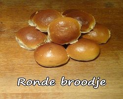 Rond Broodje Wit