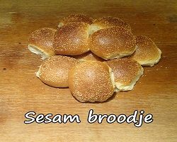 Sesam Broodje Wit
